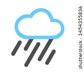 weather icon. flat illustration ...   Shutterstock .eps vector #1454355836