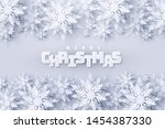 vector merry christmas and... | Shutterstock .eps vector #1454387330