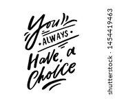 modern lettering slogan for... | Shutterstock .eps vector #1454419463