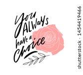 modern lettering slogan for... | Shutterstock .eps vector #1454419466