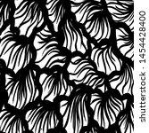 grunge brush pattern. texture.... | Shutterstock .eps vector #1454428400
