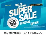 sale banner layout design ...   Shutterstock .eps vector #1454436200