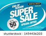 sale banner layout design ...   Shutterstock .eps vector #1454436203