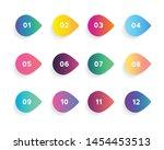 super set arrow bullet point... | Shutterstock .eps vector #1454453513