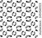 seamless pattern hand drawn...   Shutterstock .eps vector #1454560523