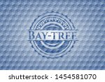 bay tree blue badge with... | Shutterstock .eps vector #1454581070