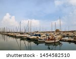 porto maurizio  imperia   italy ... | Shutterstock . vector #1454582510