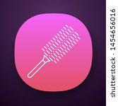 comb app icon. round brush to...