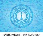 chess king icon inside...   Shutterstock .eps vector #1454697230