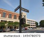 Old street in Marietta, Atlanta, Georgia