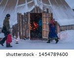 tromso  norway    december 2018 ...   Shutterstock . vector #1454789600