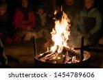 tromso  norway    december 2018 ...   Shutterstock . vector #1454789606