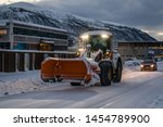 tromso  norway    december 2018 ...   Shutterstock . vector #1454789900