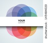 abstract colorful design vector ... | Shutterstock .eps vector #145484020