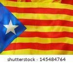blue estelada  starred flag  ... | Shutterstock . vector #145484764