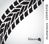 tire track background | Shutterstock .eps vector #145491958