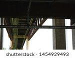 The Underside Of A Bridge At...