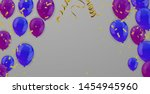 beautiful ribbon and  bright... | Shutterstock .eps vector #1454945960