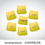 thank you written in various... | Shutterstock . vector #145498258