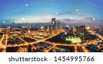 smart city and wireless... | Shutterstock . vector #1454995766