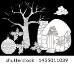 coloring pages. coloring book... | Shutterstock .eps vector #1455011039