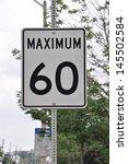 maximum speed limit | Shutterstock . vector #145502584