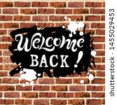 Welcome Back  Text Isolated On...