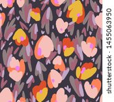 abstract floral background made ... | Shutterstock .eps vector #1455063950