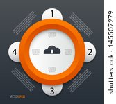 cloud communication. vector...   Shutterstock .eps vector #145507279