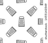 grey grater icon isolated... | Shutterstock .eps vector #1455143549
