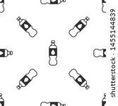 grey bottle of water icon... | Shutterstock .eps vector #1455144839