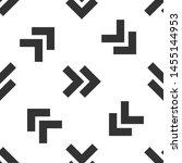 grey arrow icon isolated... | Shutterstock .eps vector #1455144953
