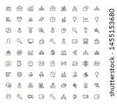 business analytics line icon... | Shutterstock .eps vector #1455153680