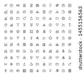 bank manager line icon set.... | Shutterstock .eps vector #1455156563