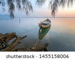 Fishing Boat In The Big Lagoon...
