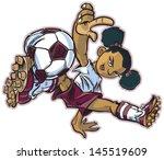 vector clip art cartoon... | Shutterstock .eps vector #145519609
