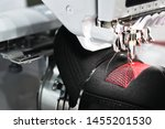 Graphic embroidery machine on...