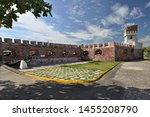View of Fort Charles Fortress in Port Royal City. Jamaica.