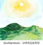 Landscape Watercolor...