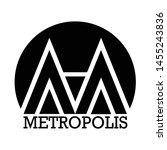 metropolis city home house... | Shutterstock .eps vector #1455243836