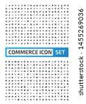 shopping and commerce vector...   Shutterstock .eps vector #1455269036
