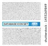 database and network vector...   Shutterstock .eps vector #1455269849