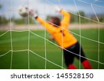 Goalkeeper With Selective Focu...