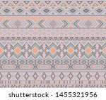 navajo american indian pattern... | Shutterstock .eps vector #1455321956