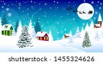 Winter Rural Landscape. The...