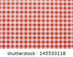 Red Gingham Tablecloth Often...