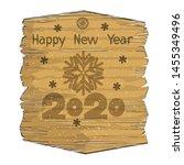 new year or christmas banner... | Shutterstock .eps vector #1455349496