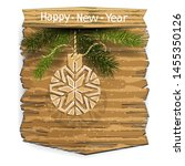 new year or christmas banner... | Shutterstock .eps vector #1455350126