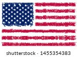 usa american flag  stars and...   Shutterstock .eps vector #1455354383