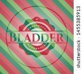 bladder christmas badge... | Shutterstock .eps vector #1455385913